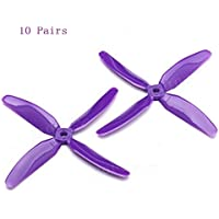 UUMART KingKong 5040 4-Blade Propellers (10CW,10CCW) 5X4X4 Inch For Multicopters FPV Racer-Purple
