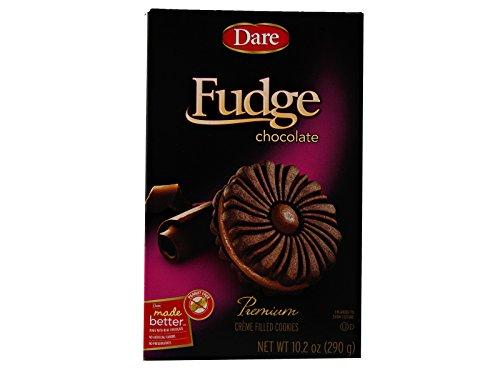 (Dare Foods Fudge Chocolate Creme Cookies 3 /10.2 oz Boxes)