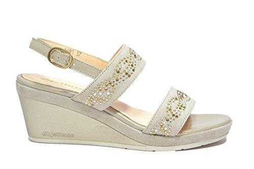 Melluso Sandali zeppa dune scarpe donna R7622