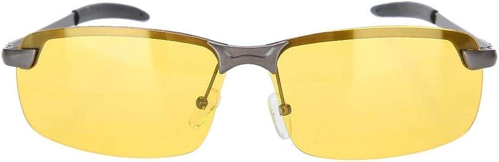 Men Nocturnal Driving Glasses Polarized Sports Glasses Night Vision Sight Glasses Polarized View Anti-reflective Safety Glasses Polarized Glasses Sunglasses