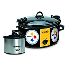 Crock-Pot Pittsburgh Steelers NFL Cook & Carry Slow Cooker