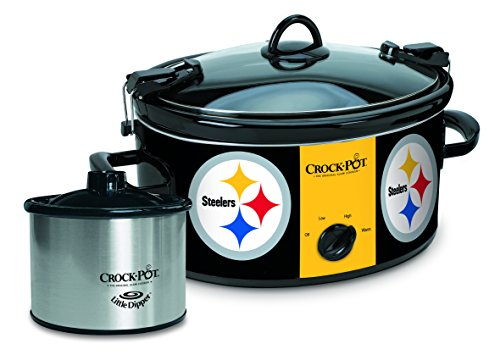 Crock-Pot Pittsburgh Steelers NFL Cook & Carry Slow Cooker (Cook Ham In Crock Pot)