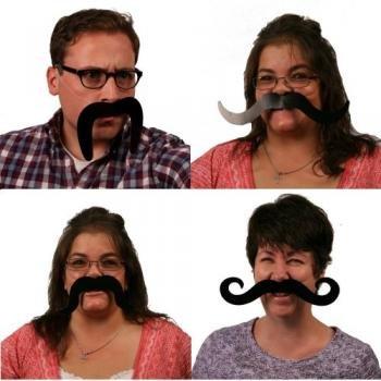 [Moustaches - 4 pieces] (Villian Costumes)