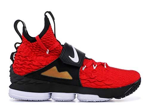 Nike Lebron 15 XV Red Diamond Turf Prime Deion Sanders Size 10.5 AO9144-600