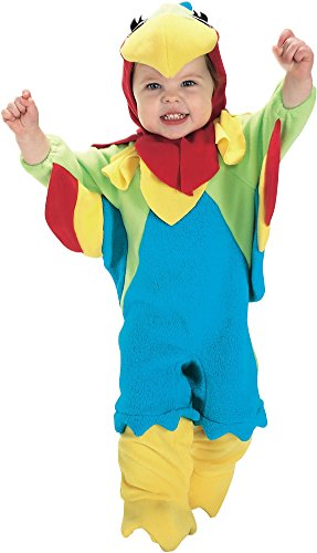 Rubie's Baby Parrot, Blue/Red/Green, 0-6 Months Costume -