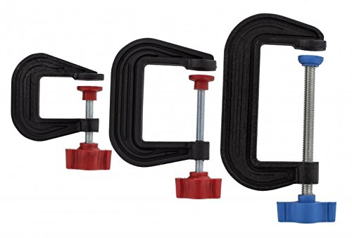 Plastica di precisione hobby g morsetti set di 3 Hobbies
