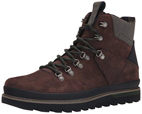 Volcom Outlander Boot - botas de caño bajo de cuero hombre marrón - marrón (Dark Brown)