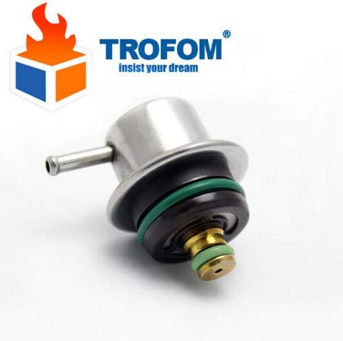 Atlanta-Shop - 4.0 Bar Fuel Injection Pressure Regulator For VW GOLF AUDI GEELY SEAT SKODA 0280160507 0280160506 037133035C 09041123 133067003 ()