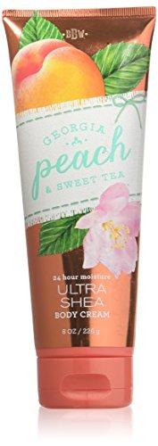 Bath & Body Works Georgia Peach & Sweet Tea Ultra Shea Body Cream, 8 Ounce