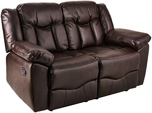 NHI Express James Motion Loveseat 1 Pack , Brown
