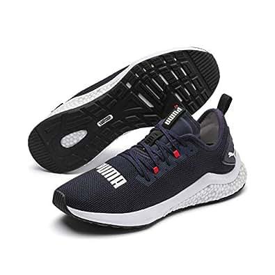 PUMA Men's Hybrid Nx Sneaker, Peacoat-high Risk Red-puma White, 7 US