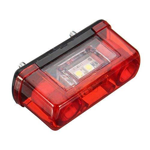 cami/ón cami/ón HarmonyHappy Remolque cami/ón Juego de 2 Luces LED de 12 V//24 V para matr/ícula de Coche Universal