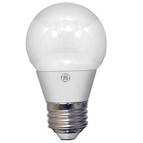 4w White Led (GE Lighting 37924 Dimmable LED A15 Ceiling Fan Bulb with Medium Base, 4-Watt, Soft White)