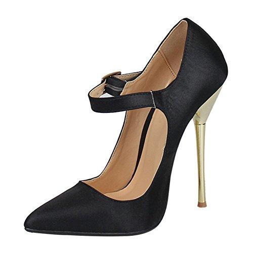 Sandales fereshte Noir Femme fereshte Sandales Compensées 7EWvqaUwW