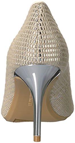 Gayle Natural Calvin White Pump Women's Soft Klein Silver rqvvIEw