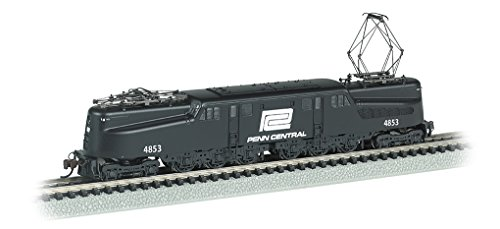 - Bachmann Industries Gg 1 Dcc Sound Value Equipped Electric Locomotive, Black/White