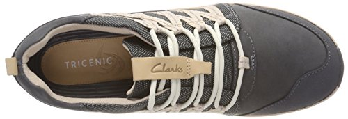 Ginnastica Grey Grigio Basse Trail Tri Scarpe Clarks Combi da Donna Dark xwzIqT1H1