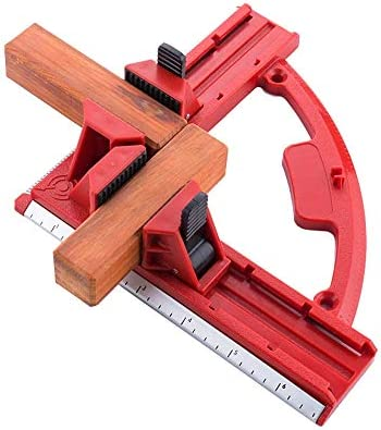 NOBGP 90 Degree Adjustable Right Angle Clamp Fixing Clips, Picture Frame Corner Clamp Woodworking Hand Tool, for Furniture Repaire Photo Reinforcement