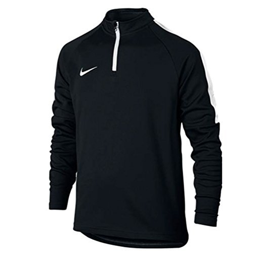 Nike Kids' Dry Academy Drill Soccer Top 1/4 Zip Jacket (Large) Black by NIKE