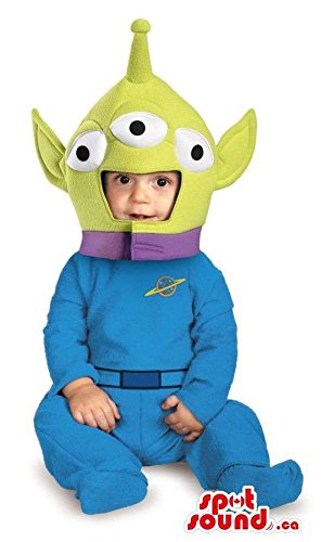 Pecul (Adult Toy Story Alien Costumes)