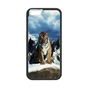 Case Cover For Apple Iphone 4/4S Prestige of the tiger Phone Back Case Personalized Art Print Design Hard Shell Protection FG048104
