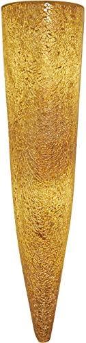 Holl/änder Verre Appliques Murales Narziso en Or Ambre Travail artisanal fait /à la main Qualit/é de manufacture