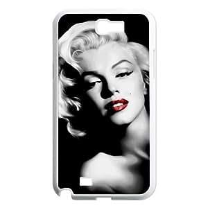 Samsung Galaxy Note 2 N7100 Phone Case White Marilyn Monroe HCM111090