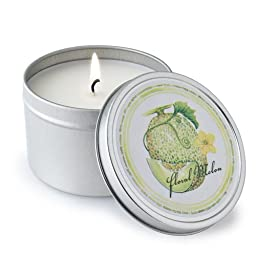 Crash Melon Soy Candle Tin by Susan  MacConnell