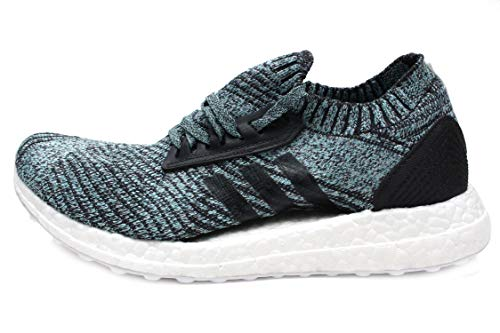 adidas Women's Ultraboost Parley Running Shoe, Carbon s, Blue Spirit s, 8.5 M US