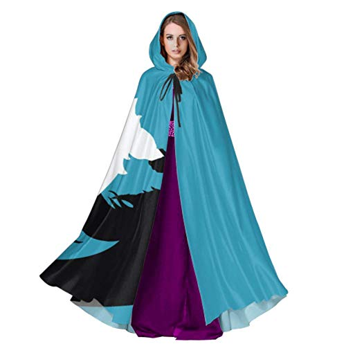 Ipod Halloween Costumes (ZXWXNLA iPod League of Legends Nami One Piece Wa Toddler Hooded Cloak Cloak Hooded Cape 59inch for Christmas Halloween Cosplay)