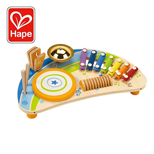 (Award Winning Hape Mighty Mini Band Wooden Percussion Instrument)