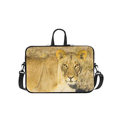 (Wildlife in Nxai Pan National Park Pattern Briefcase Laptop Bag Messenger Shoulder Work Bag Crossbody Handbag for Business Travelling)