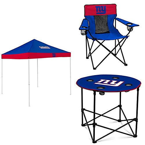 New York Giants Tent, Table and Chair Package