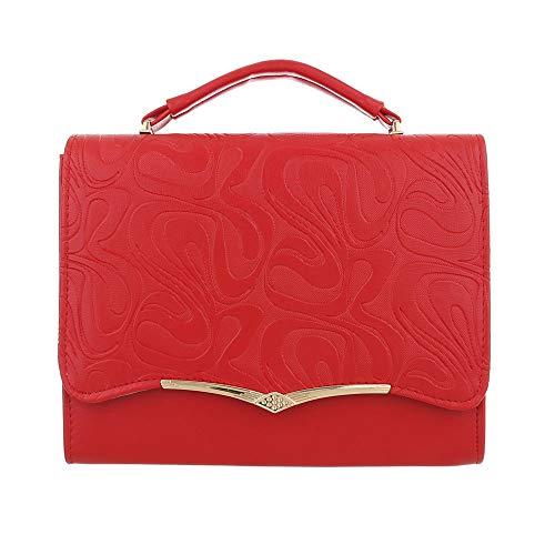 Ital-Design , Sac pour femme à porter à l'épaule Rouge