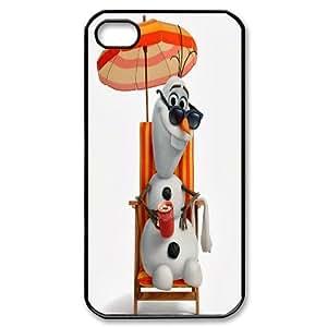 -ChenDong PHONE CASE- For Iphone 4 4S case cover -Frozen Pattern-UNIQUE-DESIGH 3