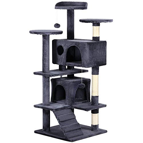 Yaheetech Cat Tree Furniture with Scratching Posts