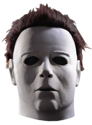 Rubie's Costume Michael Myers Deluxe Overhead Mask, White, One (Halloween Movie Masks)