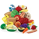 Excellerations Yummy Plush Play Food - 25 Pieces (Item # YUMMY)