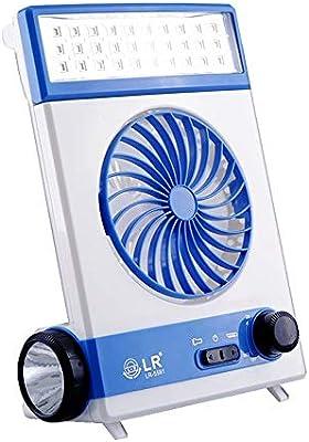 NCBH Mini Ventilador Multifuncional, luz de Camping, Ventilador inalámbrico, Recargable, Ventilador de Mano, Ventilador de enfriamiento Personal para Oficina en casa, Viajes al Aire Libre: Amazon.es: Hogar