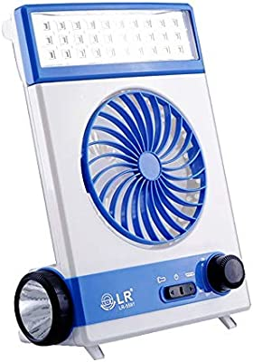 NCBH Mini Ventilador Multifuncional, luz de Camping, Ventilador ...