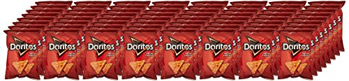 028400070560 - Doritos Nacho Cheese Flavored Tortilla Chips, 1.75 Ounce (Pack of 64) carousel main 1