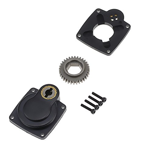 - 1/8 Rc Model Car Electric Power Starter Backplate Roto E-Start Drill Plate 11012 for SH (for 28 Size Nitro Engine)