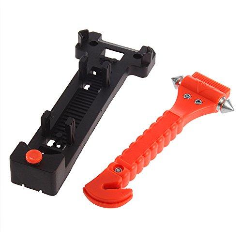cuxus 2 pack car safety hammer window breaker seatbelt cutter import it all. Black Bedroom Furniture Sets. Home Design Ideas