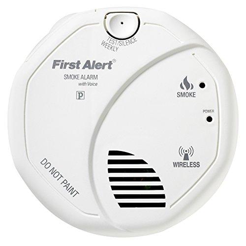 Smoke Alarm, Wireless Battery