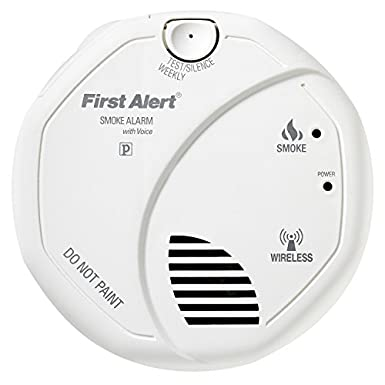 Smoke Alarm, Wireless Battery