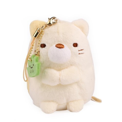 i Plush Doll Cell Phone Strap (Cat) (Plush Doll Cell)