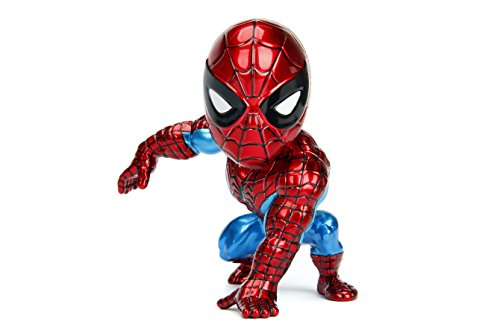 (Metals Marvel Classic Spiderman Diecast Collectible Toy Figure, 4