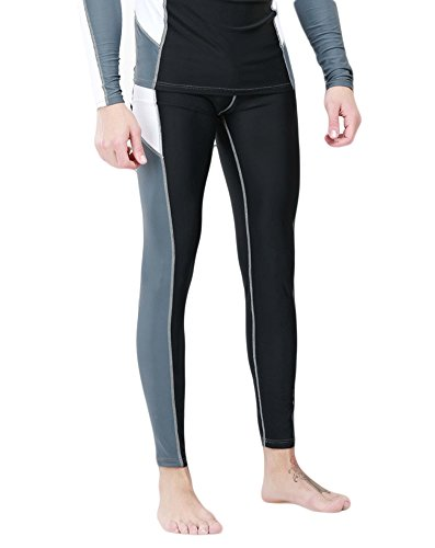 Fortuning's JDS® Couple swimwear long surfing swimming pants for men UPF 50+ by Fortuning's JDS®
