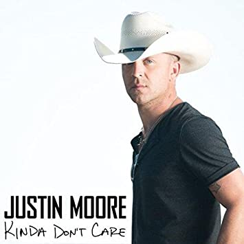 Image result for justin moore kinda don't care album