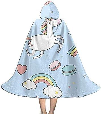 KDU Fashion Wizard Cape,Helado Unicornio Estrella Niños Capucha ...